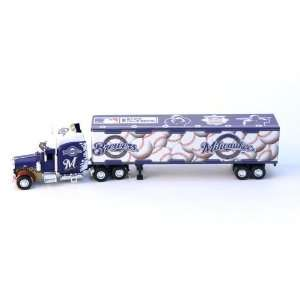 Brewers Semi Tractor Trailer Truck DieCast 180 Scale Toys & Games