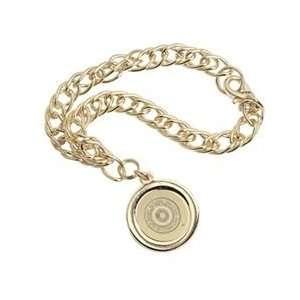 Rutgers   Charm Bracelet   Gold