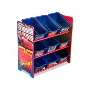 Disney Pixar Cars 9 Bin Toy Organizer Home & Kitchen