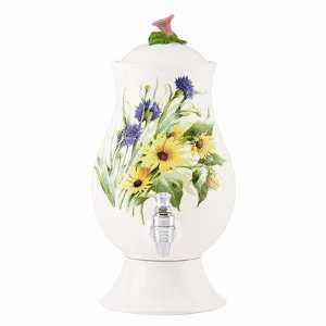 Floral Meadow Cold Beverage Dispenser  Kitchen & Dining