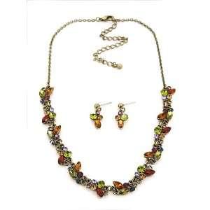 Fashion Jewelry Desinger Inspired Brass Oxidized Multi