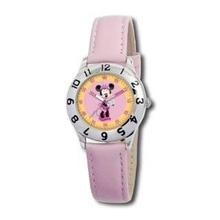 Lightning McQueen Time Teacher Black Leather Strap Watch Watches