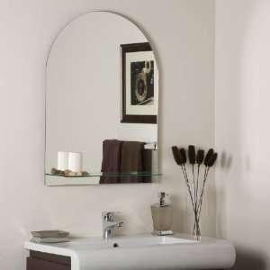 SSM112 Modern Frameless V Groove Wall Mirror SSM112