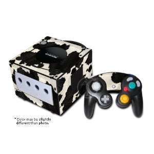 Cow Print Design GameCube Decorative Protector Skin Decal