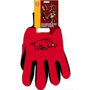 Razorbacks NCAA Two Tone Gloves