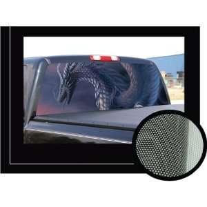 DRAGON 22 x 65  Rear Window Graphic  decal tint film see