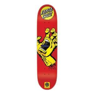 Santa Cruz Skate Screaming Hand Mini Powerply Decks, 27.6 x 7.4