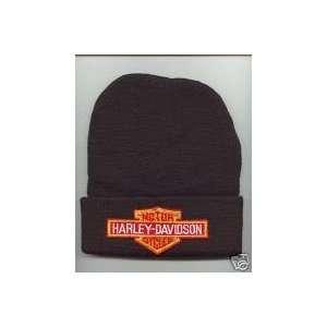 HARLEY DAVIDSON Beanie HAT SKI CAP Black NEW