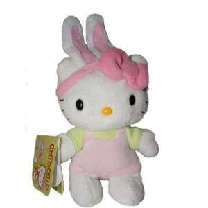 Hello Kitty Easter Bunny 6 inch plush Toys & Games