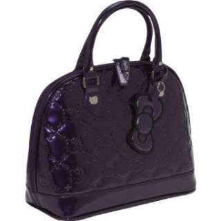 Loungefly Hello Kitty Purple Embossed Bag  Clothing