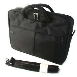 Genuine DELL Black Nylon Laptop Notebook Carry Case Tote Bag