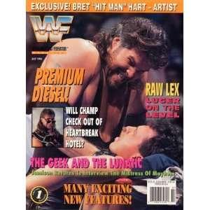 WWF Wrestling Magazine  Diesel (1994) WWE Books