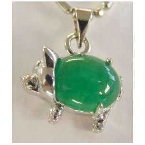 Fashion Jewelry ~ Jade Pig Pendant