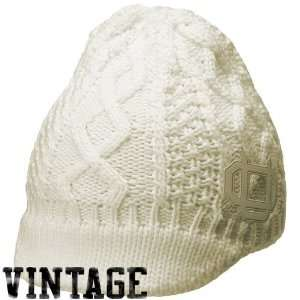 Nike Oregon Ducks Ladies White Vault Vintage Visor Beanie