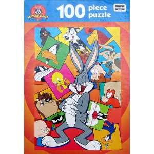 100pc. Looney Tunes Puzzle Bugs Laughing Toys & Games
