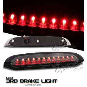 98 01 Ford Explorer LED 3rd Brake Light   Black Automotive
