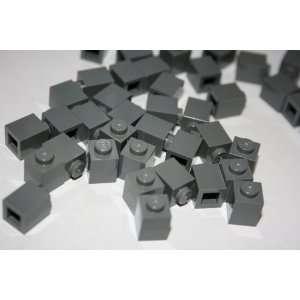 Lego 1 X 1 Dark Bluish Grey Brick ~ Accessory Bulk Bricks