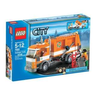 LEGO City Garbage Truck   7991 : Toys & Games :