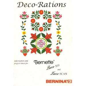 DECO RATIONS [INFORMATION AND PROJECT IDEAS FOR BERNETTE