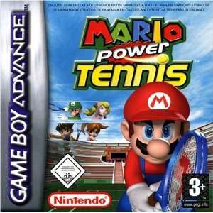 Mario Tennis Power Tour Video Games
