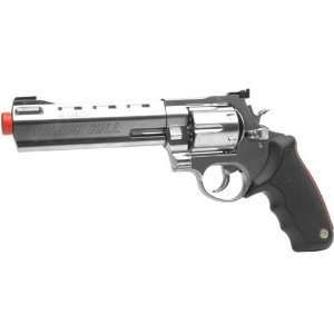 Taurus 8mm Raging Bull Gas Revolver, Silver/Black: Sports