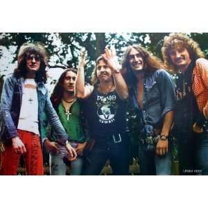 Uriah Heep English Rock Band Punk Heavy Metal Wall Decoration Poster