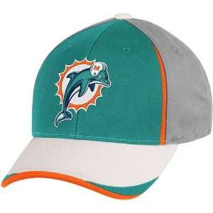 Reebok Miami Dolphins Youth Structured Adjustable Hat