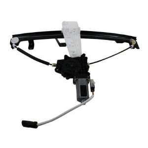 Driver Side Replacement Power Window Regulator Assembly with Motor