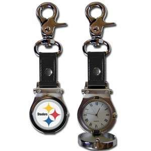 NFL Pittsburgh Steelers Clip On Watch