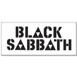 BLACK SABBATH Ozzy Osbourne car bumper sticker 6 x 3