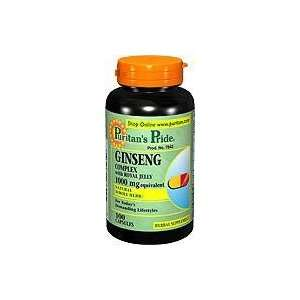 Ginseng Complex 1000 mg 1000 mg 100 Rapid Release Capsules