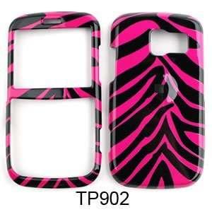 Pantech Link Pink Zebra Skin Hard Case/Cover/Faceplate