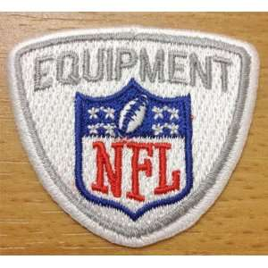 NFL Equipment Patch VIII Star Logo Iron On Sew: Sports