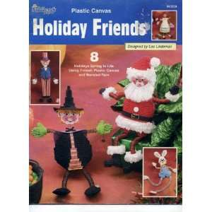 Plastic Canvas Holiday Friends (843334)