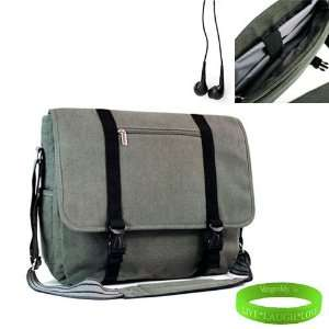 Premium Gray Super Stylish Canvas Messenger Bag for HP Pavillion DV6