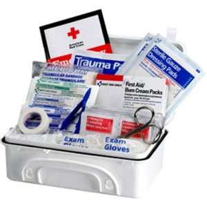 Piece   10 Person Contractor Medical Kit (Plastic)