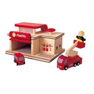 Toy Vehicle Playsets My First Toy Fire Engine & Toy Fire Station Play