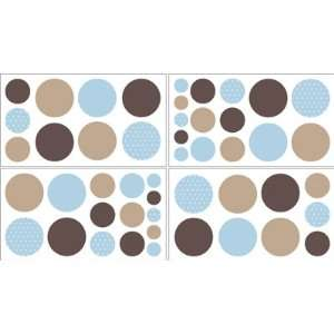 Polka Dot Wall Decal Stickers   Set of 4 Sheets  Home