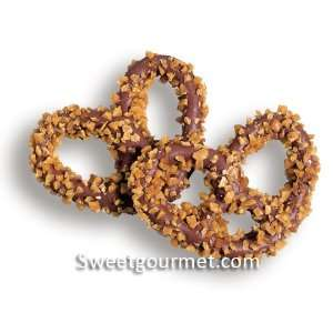 Milk Chocolate Coated Pretzels with Toffee, 16 Oz  Grocery