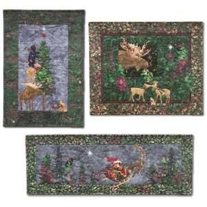 Ryan Pine Needles Classic Christmas Holiday Set of 3 Quilting Patterns