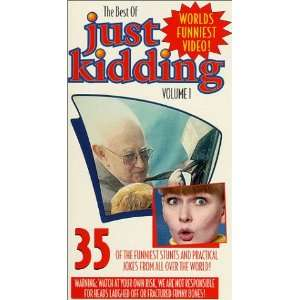 Just Kidding Vol. 1 [VHS] Just Kidding Movies & TV