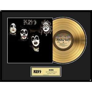 KISS KISS Framed Gold Record