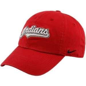 Nike Cleveland Indians Red Campus Adjustable Hat