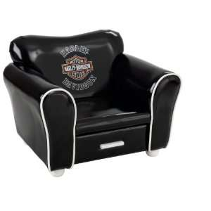 KidKraft Harley Davidson Retro Chair Black Toys & Games