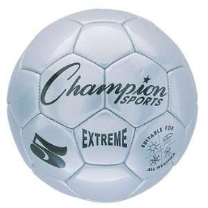 Sports Extreme Series Size 3 Soccer Ball   Silver