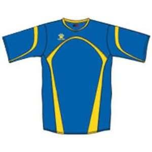 Kelme Cadiz Custom Soccer Jerseys 289 ROYAL/GOLD AXL