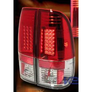 Ford F150 Led Tail Lights Red Clear Altezza LED Taillights