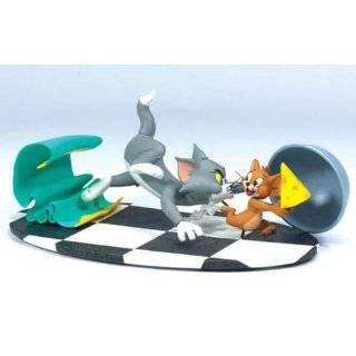 Hard to Find Unique Tom and Jerry 19 Piece Play Set with 9 Tom, Jerry