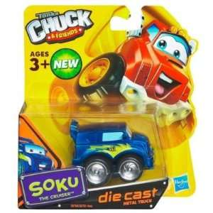 Tonka Chuck & Friends   Soku The Cruiser   Die Cast Metal Truck Toys
