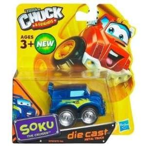 Tonka Chuck & Friends   Soku The Cruiser   Die Cast Metal Truck Toys